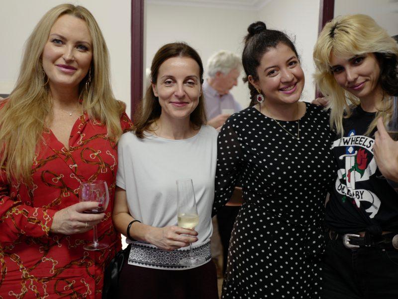 Mimi, Lauren, Niki and Zuzana…