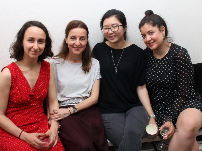 Olga, Niki, Ida and Zuzana…