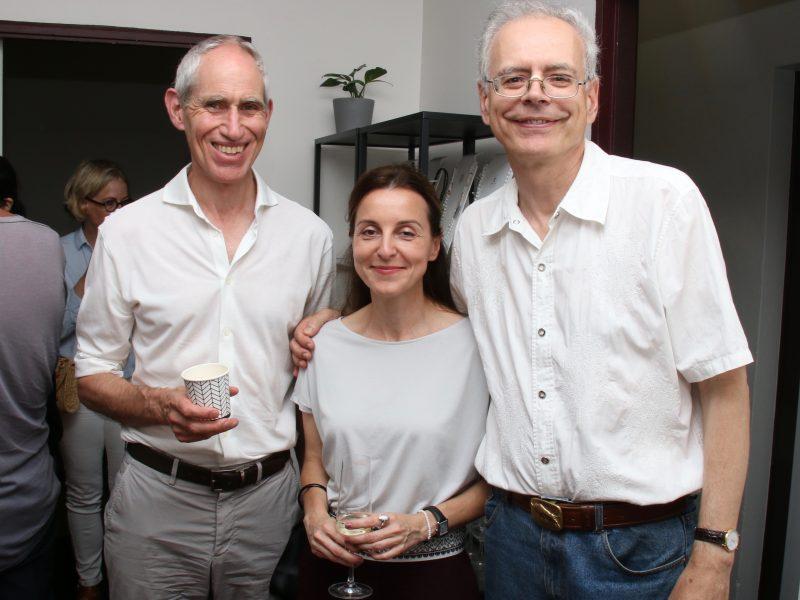 Steven, Tibor and Zuzana