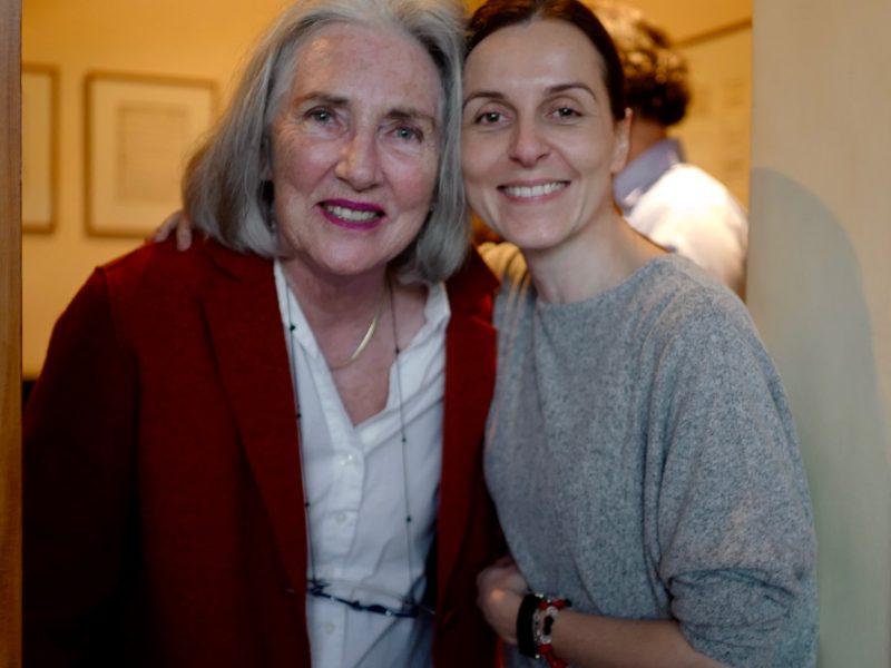 Zuzana with Sue…